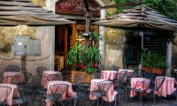 A cafe in Italy
