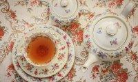 Tea in the sitting room