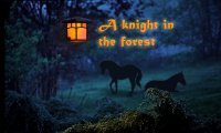 A knight in the forest