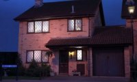 What the inside of the Dursley's house may have sounded if it was late at night