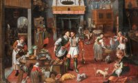 Medieval kitchen sounds