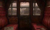 Sitting in a train