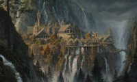 I calm evening in the elven house.