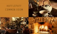 Spend a Calm Afternoon in the Hufflepuff Common Room