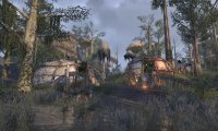 Recovering from illness at an Ashlander camp
