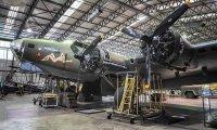 WWII era aircraft hangar