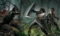 Medieval Forest Battle