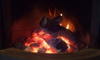 Such a nice cozy fire :)