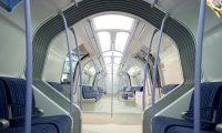 Monorail ride through Spaceship