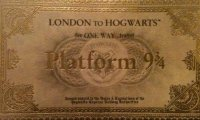 On our way to Hogwarts!