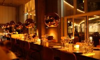 Relaxing restaurant ambience