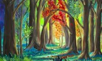 In the Magical Forest