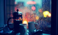 Tea in the Rain