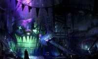 Sounds from inside Joker's Funhouse
