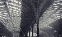 Victorian train platform