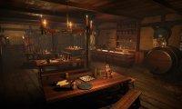 Medieval Tavern During Light Storm.