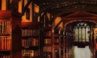 Hogwarts Library - Rainy Day