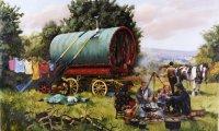Desolated Gypsy Wagon