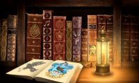Ravenclaw in the Library