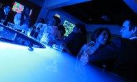 an ethereal bar