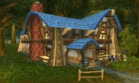 A relaxing stay at the Goldshire Inn