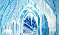 Passage through an icy hall