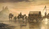 Wagon travelling to phandalin