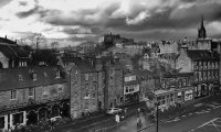 A grey afternoon in Edinburgh