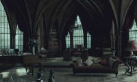 A Quiet Evening in the Slytherin common room