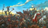 Epic battle in the old World