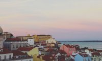 Listening to Fado in Alfama's sunset