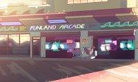 Funland Arcade on the boardwalk