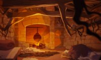 The Arcana: Muriel's Hut (Interior)