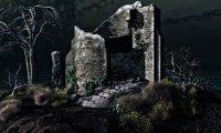 D&D Graveyard or ruin outdoors