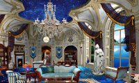 Study cosily in the Ravenclaw common room