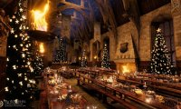 A chill Christmas dinner party in the Great Hall