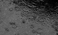 Rain and river