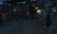 Fo4- Castle in the Evening