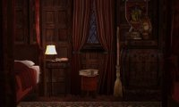 winter rain at Gryffindor Dormitory