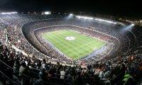 Energized sports stadium full of fans!