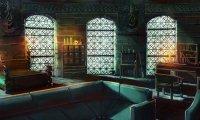 The Slytherin Dormitory