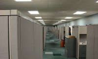 Cubical near the server room