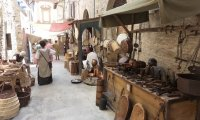 Market Day in a Medieval Town