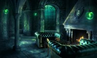 A Relaxed Evening in the Slytherin Common Room