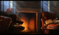 Hermione's Favorite Spot in the Gryffindor Common Room