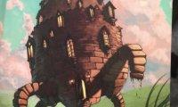 Sleepy moving castle