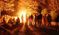 Campground – Night