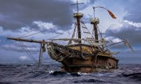 The Damsel - Pirate Ship