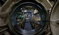 hanging out in a submarine