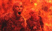 Burning in hell